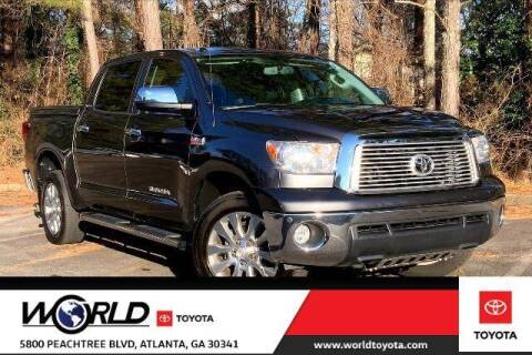 2013 Toyota Tundra for sale at CU Carfinders in Norcross GA