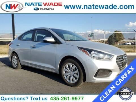 2019 Hyundai Accent for sale at NATE WADE SUBARU in Salt Lake City UT