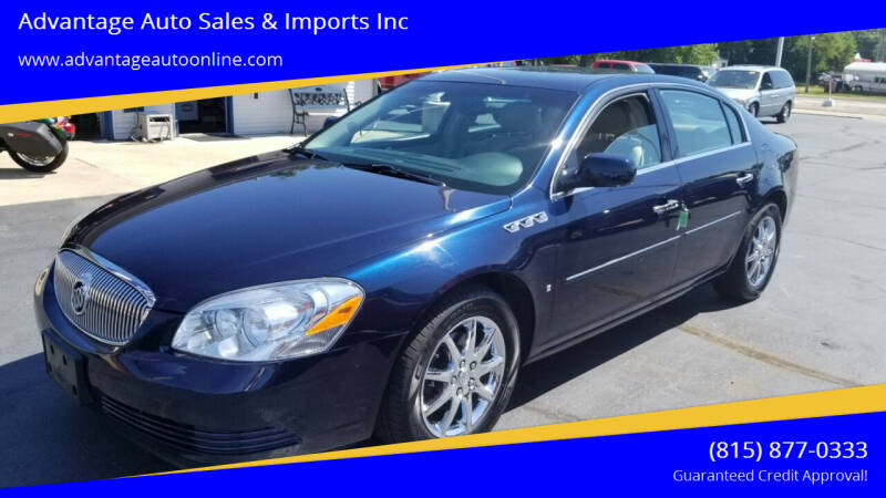 2006 Buick Lucerne for sale at Advantage Auto Sales & Imports Inc in Loves Park IL