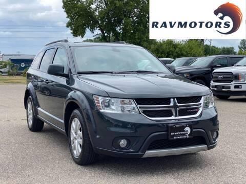 2018 Dodge Journey for sale at RAVMOTORS in Burnsville MN