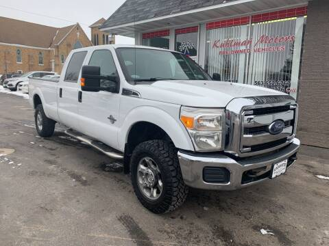 2013 Ford F-350 Super Duty for sale at KUHLMAN MOTORS in Maquoketa IA