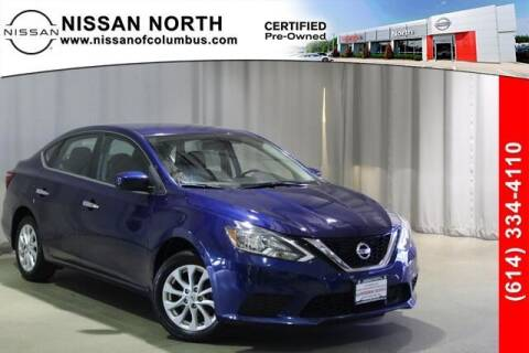 2018 Nissan Sentra for sale at Auto Center of Columbus in Columbus OH