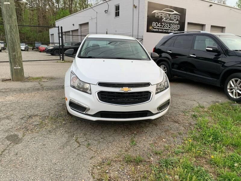 2016 Chevrolet Cruze Limited for sale in Petersburg, VA