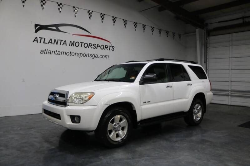 2006 Toyota 4Runner for sale at Atlanta Motorsports in Roswell GA