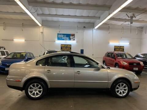 2004 Volkswagen Passat for sale at Cuellars Automotive in Sacramento CA