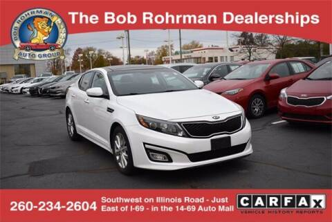 2015 Kia Optima for sale at BOB ROHRMAN FORT WAYNE TOYOTA in Fort Wayne IN