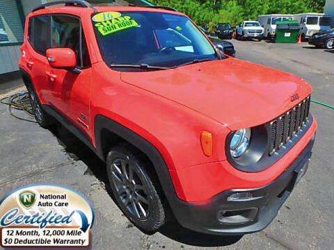 2016 Jeep Renegade for sale at Jon's Auto in Marquette MI