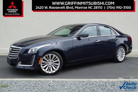2018 Cadillac CTS for sale at Griffin Mitsubishi in Monroe NC