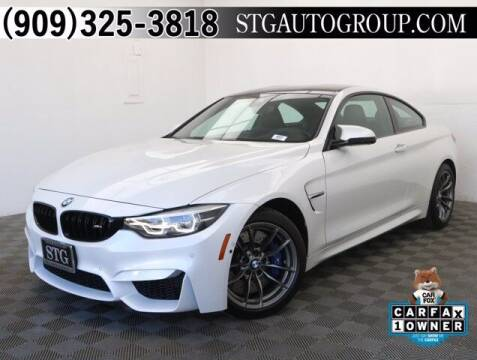 2018 BMW M4 for sale at STG Auto Group in Montclair CA