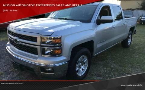 2014 Chevrolet Silverado 1500 for sale at MISSION AUTOMOTIVE ENTERPRISES in Plant City FL