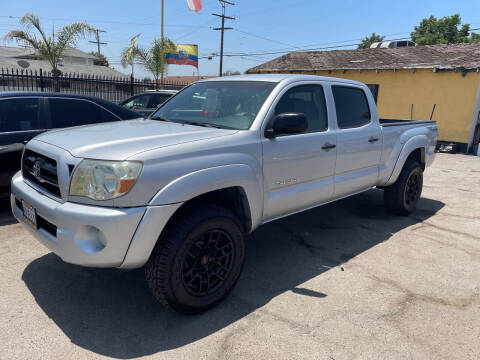 2005 Toyota Tacoma for sale at JR'S AUTO SALES in Pacoima CA