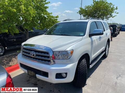 2011 Toyota Sequoia for sale at Meador Dodge Chrysler Jeep RAM in Fort Worth TX