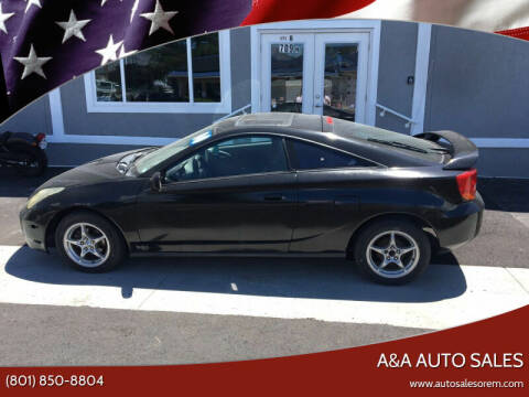 2000 Toyota Celica for sale at A&A Auto Sales in Orem UT