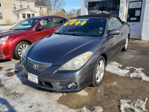 2007 Toyota Camry Solara for sale at York Street Auto in Poultney VT