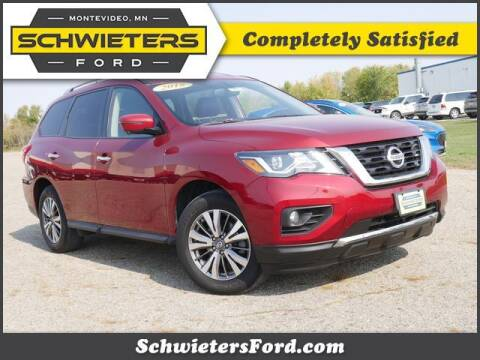 2018 Nissan Pathfinder for sale at Schwieters Ford of Montevideo in Montevideo MN
