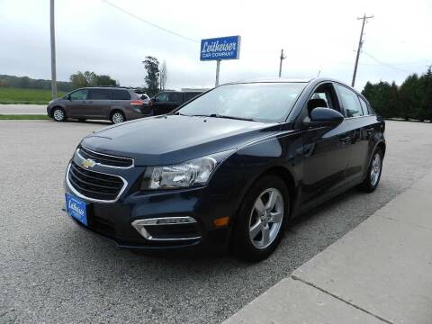 2015 Chevrolet Cruze for sale at Leitheiser Car Company in West Bend WI