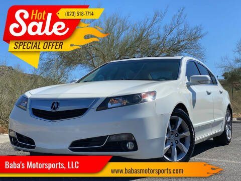 2013 Acura TL for sale at Baba's Motorsports, LLC in Phoenix AZ