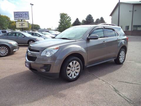 2010 Chevrolet Equinox for sale at Budget Motors - Budget Acceptance in Sioux City IA
