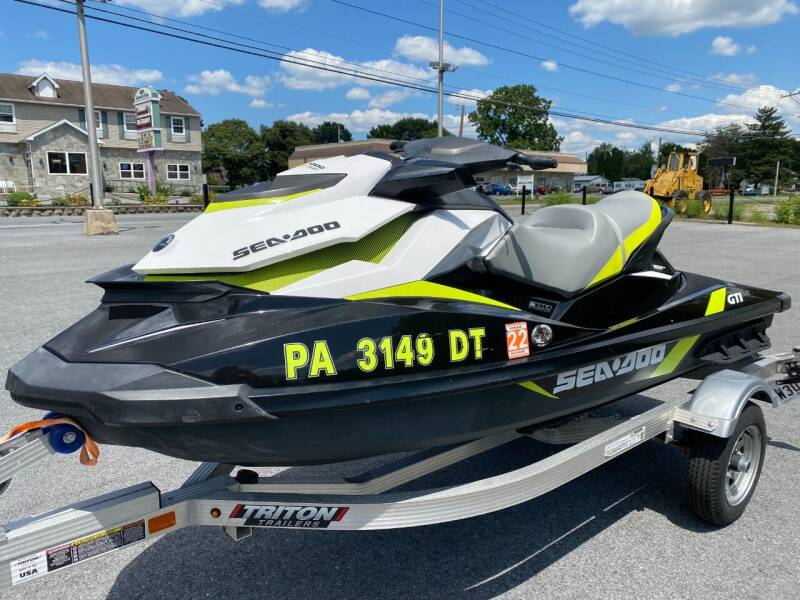 2017 Sea-Doo GTI for sale at M4 Motorsports in Kutztown PA