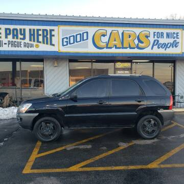 2008 Kia Sportage for sale at Good Cars 4 Nice People in Omaha NE