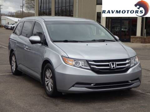 2016 Honda Odyssey for sale at RAVMOTORS 2 in Crystal MN