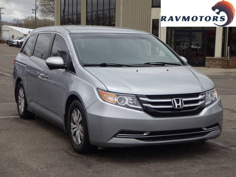 2016 Honda Odyssey for sale at RAVMOTORS 2 in Crystal MN