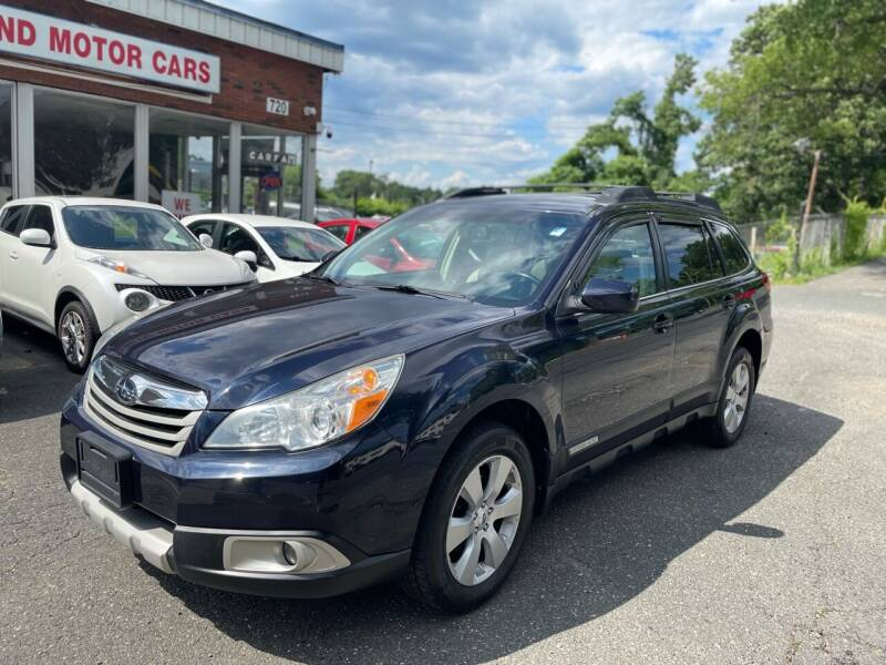 2012 Subaru Outback for sale at New England Motor Cars in Springfield MA