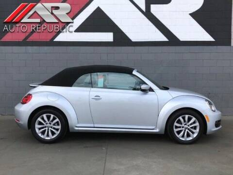 2014 Volkswagen Beetle Convertible for sale at Auto Republic Fullerton in Fullerton CA