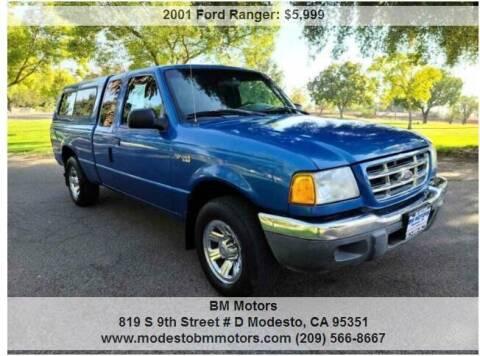 2001 Ford Ranger for sale at BM Motors in Modesto CA