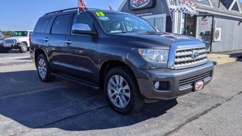 2013 Toyota Sequoia for sale at Cape Cod Carz in Hyannis MA