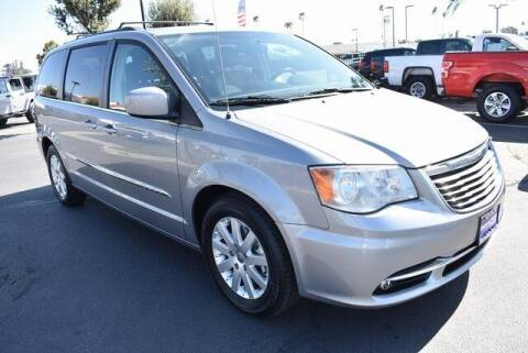 2016 Chrysler Town and Country for sale at DIAMOND VALLEY HONDA in Hemet CA