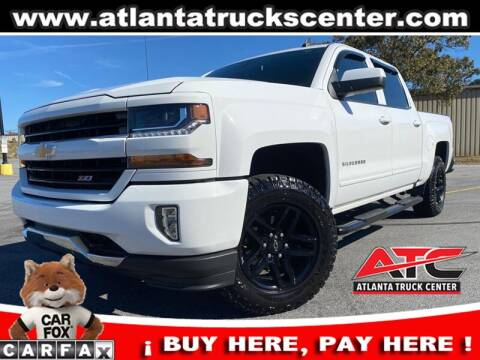 2017 Chevrolet Silverado 1500 for sale at ATLANTA TRUCK CENTER LLC in Brookhaven GA
