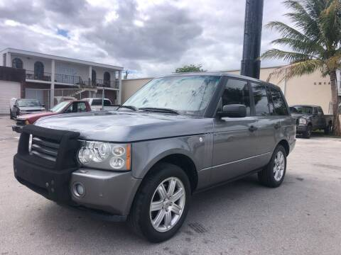 2007 Land Rover Range Rover for sale at Florida Cool Cars in Fort Lauderdale FL