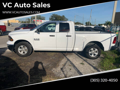 2018 RAM Ram Pickup 1500 for sale at VC Auto Sales in Miami FL