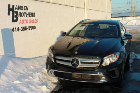 2015 Mercedes-Benz GLA for sale at HANSEN BROTHERS AUTO SALES in Milwaukee WI
