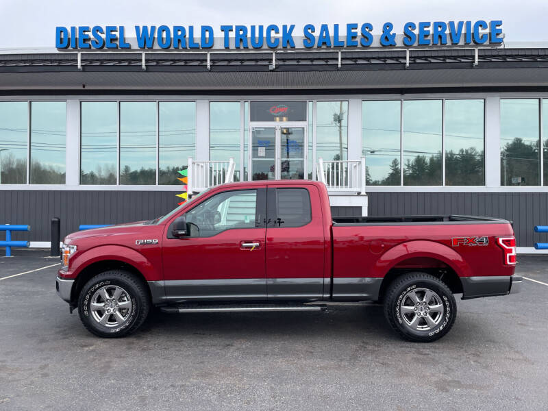 2019 Ford F-150 for sale at Diesel World Truck Sales in Plaistow NH