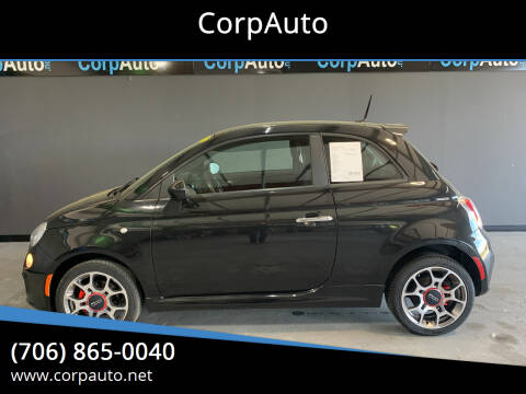 2012 FIAT 500 for sale at CorpAuto in Cleveland GA