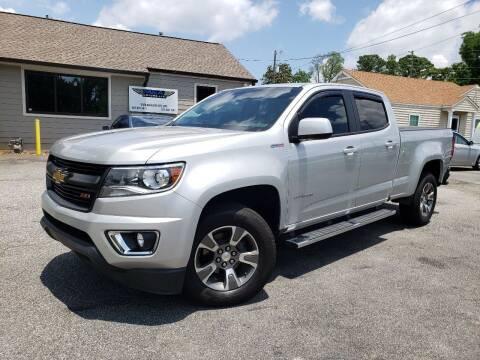 2017 Chevrolet Colorado for sale at M & A Motors LLC in Marietta GA