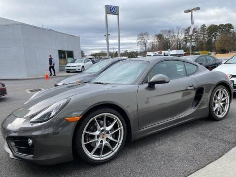 2014 Porsche Cayman for sale at CU Carfinders in Norcross GA