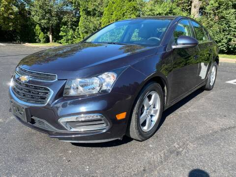 2015 Chevrolet Cruze for sale at Professionals Auto Sales in Philadelphia PA