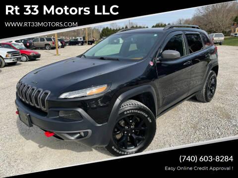 2016 Jeep Cherokee for sale at Rt 33 Motors LLC in Rockbridge OH