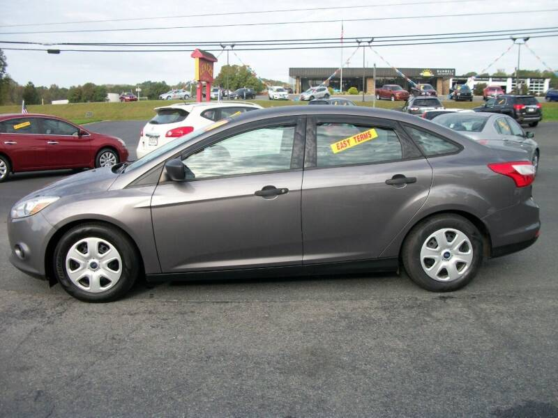 2014 Ford Focus for sale at Lentz's Auto Sales in Albemarle NC