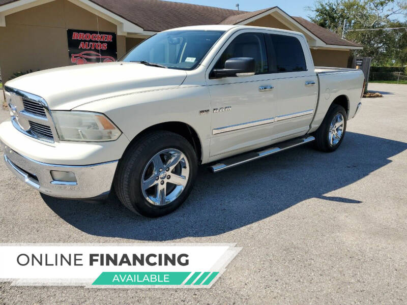 2010 Dodge Ram Pickup 1500 for sale at Brocker Autos in Humble TX