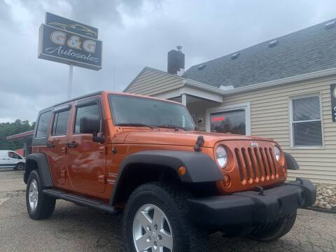 2010 Jeep Wrangler Unlimited for sale at G & G Auto Sales in Steubenville OH
