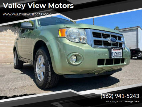 2008 Ford Escape for sale at Valley View Motors - My Next Auto in Anaheim CA