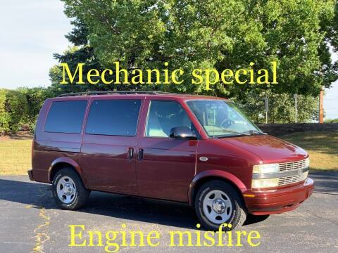 2003 Chevrolet Astro for sale at All Star Car Outlet in East Dundee IL