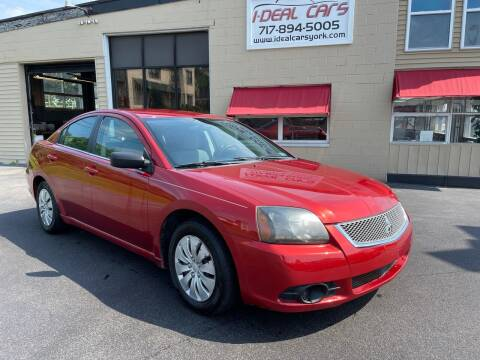 2011 Mitsubishi Galant for sale at I-Deal Cars LLC in York PA