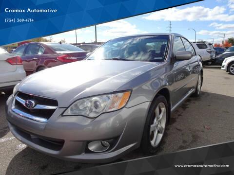 2009 Subaru Legacy for sale at Cromax Automotive in Ann Arbor MI