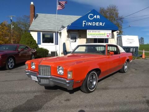 1972 Pontiac Grand Prix for sale at CAR FINDERS OF MARYLAND LLC in Eldersburg MD