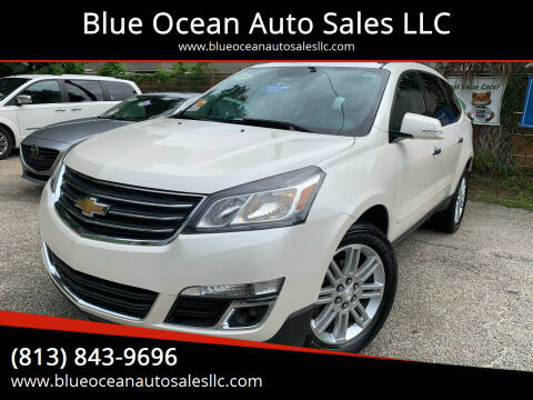 2015 Chevrolet Traverse for sale at Blue Ocean Auto Sales LLC in Tampa FL